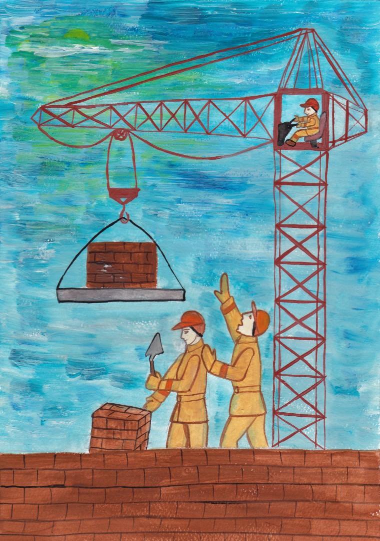 Рисунок на тему труд